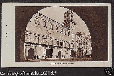 1594.-ALICANTE -14 Ayuntamiento