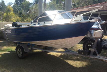 Alloy Boat 4.8m