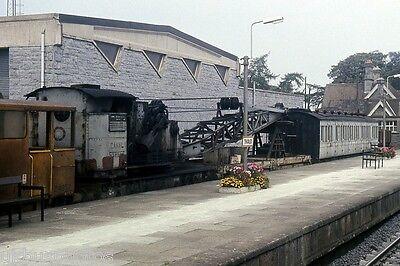 CIE Breakdown train Thurles 1986 Eire Rail Photo