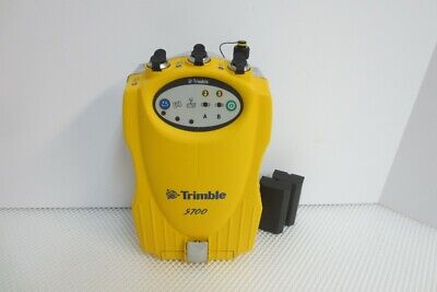 Trimble 5700 Gps Receiver With Firmware 2.32 Software New Batteries Manual