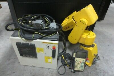 Fanuc Lr Mate 200i Industrial Robot With R-j2 Mate And Teach Pendant