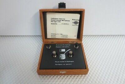 Bruel Kjaer 4178 Sound Intensity Pair Of Two Microphones