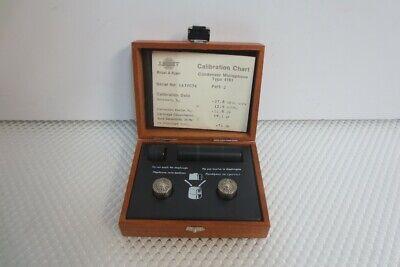 Bruel Kjaer 4181 Sound Intensity Microphone Set With 2 Pcs 4181 Mic Cartridge