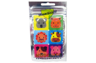 SFK MoskiShield Mosquito Repellent Patch 6pcs