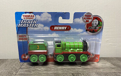 Thomas & Friends GDJ55 Trackmaster Large Push Along Henry Diecast Train Engine