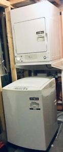 Apt-size GE Spacemaker portable washer / dryer SET