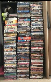 MUST GO MASSIVE JOB LOT OF DVDS and more