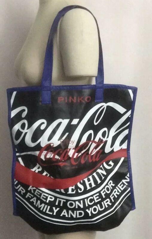 NWT PINKO + Coca-Cola Limited Edition Curcuma Shopping Tote Bag