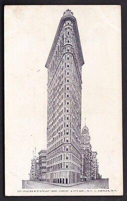 USA NY NEW YORK Fuller Building Flat Iron c1902 u/b PPC by J Koehler