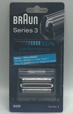NEW Braun Series 3 32B Foil and Cutter Replacement Head (Braun Series 3 Replacement Foil And Cutter)