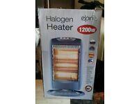 Brand new boxed elpine halogen heater 1200w