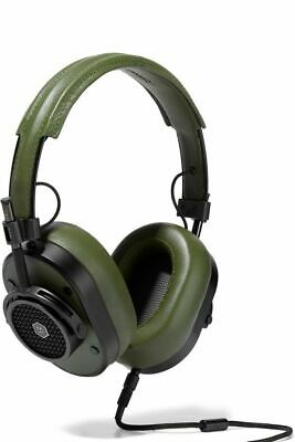 MASTER & DYNAMIC MH40 HI FI OVER EAR HEADPHONES LEATHER...