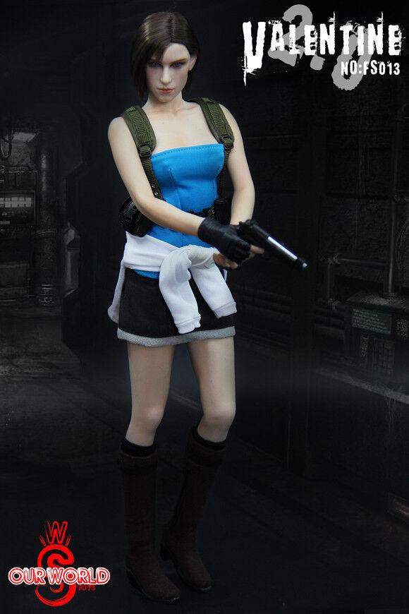 1//6 Jill Valentine 2.0 Action Figure Resident Evil Wesker Sheva FS013 In STOCK