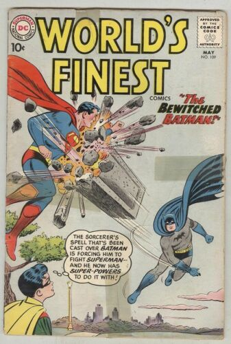 World's Finest #109 May 1960 FR