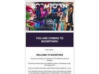 Boomtown Weekend Ticket with Shuttle