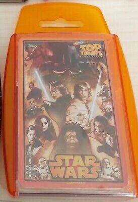 STAR WARS TOP TRUMPS CARD GAME.