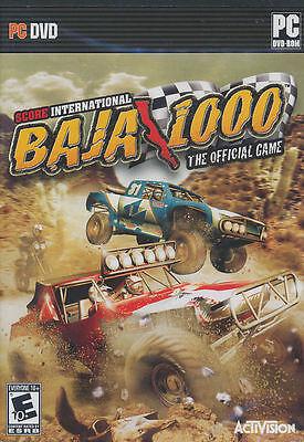 Score International Baja 1000 Pc Game Xp Vista New Box