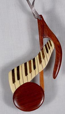 Ornament-Music Note & Keyboard-FREE SHIPPING (Music Note Ornamente)