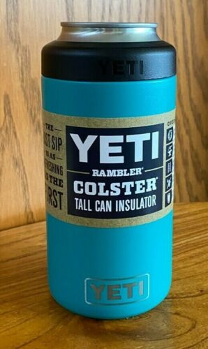 Brand New AUTHENTIC YETI RAMBLER TALL CAN Insulator ~ Choose Color!