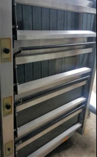 Bakers Oven APV  4 Deck Oven & 8 Deck Oven