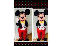 Mickey, Minnie mascot Hire , chocolate fountain Hire, fruit palm trees,candy Floss, slush, popcorn