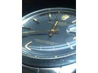 Men's Rolex watch 34mm perpetual date,