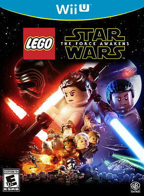 LEGO Star Wars: The Force Awakens (Nintendo Wii U) New