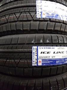 225/55R17 BRAND NEW SET WINTER TIRES SNOW VITOUR 225/55/R17 WHEELS 225 55 17