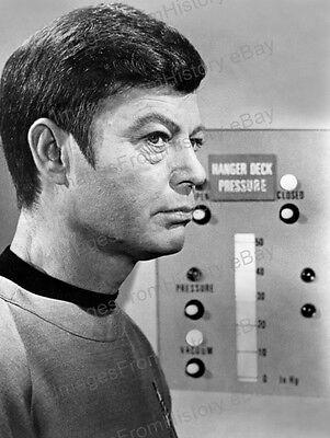 8x10 Print DeForest Kelley Star Trek 1968 #2016221