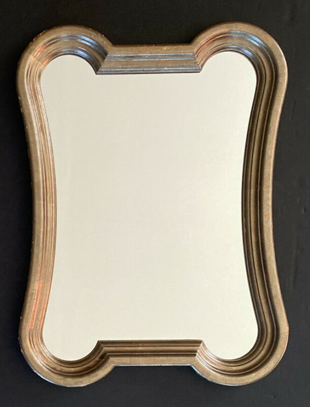 Vintage Baker Framed Gold Painted Wall Mirror