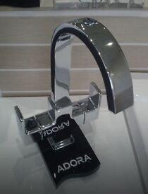 Adora Flow Monobloc Basin Mixer without Waste - Ex demo RRP £95