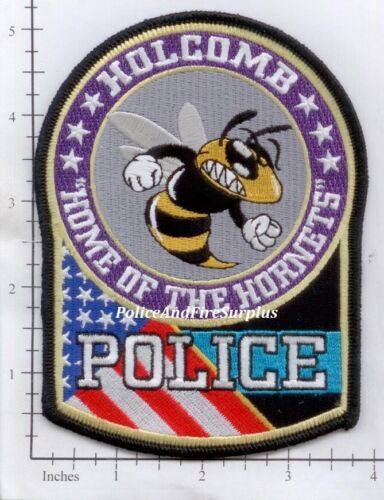 Missouri - Holcomb MO Police Dept Patch - Home of the Hornets
