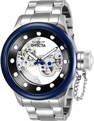 Invicta 26274 Mens 52mm Russian Diver Ghost Automatic Skeletonized Dial SS Watch