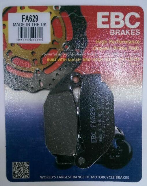 Honda CBR125R (2011 to 2015) EBC Kevlar REAR Brake Disc Pads (FA629) (1 Set)