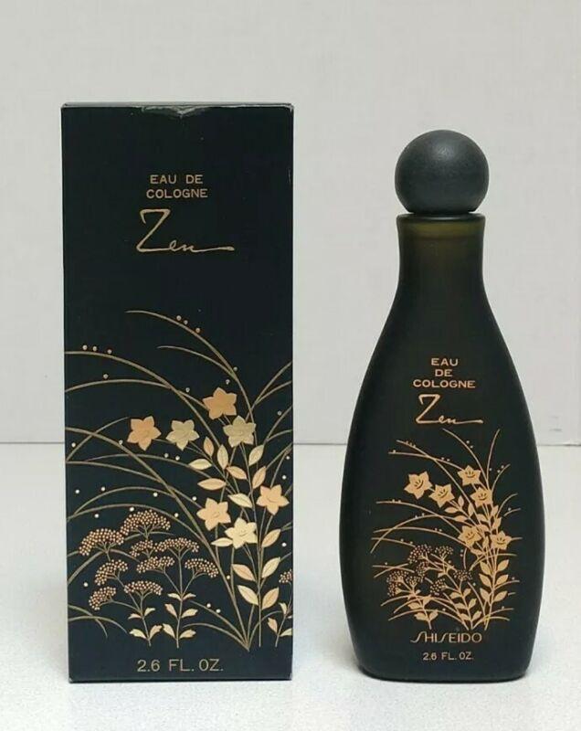 SHISEIDO ZEN 2.6 oz EAU de Cologne EDC Perfume  New in Box