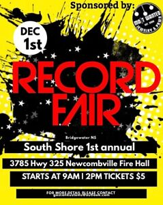 """Only 2 weeks away"" Record Vinyl LP Fair"