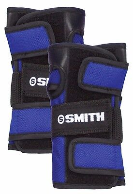 Smith Scabs Pads Skateboard Wrist Guards BLUE SMALL