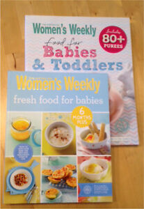 2 x Women's Weekly Baby Food cookbooks Dalveen Southern Downs Preview