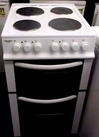 Bush White electric Cooker
