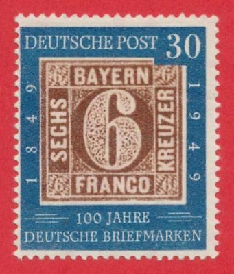Bund 1949 - 100 Jahre deutsche Briefmarken - Bayern 4 - Mi-Nr. 115 - postfrisch