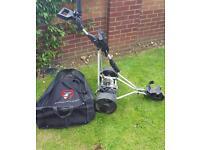E CADDEY Prolite Electric Golf Trolley