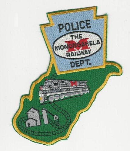 State Shaped Railroad Railway Monongahela RR Police State Pennsylavania PA WV