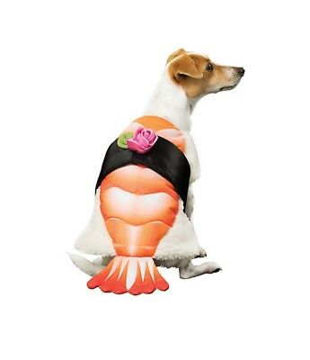 SUSHI ROLL Pet Dog Costume ~ L  Large ~ NWT - Sushi Roll Dog Costume