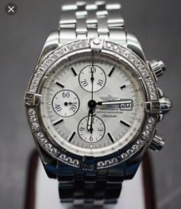 Breitling chronomat 41 automatic Mother of Pearl Diamond