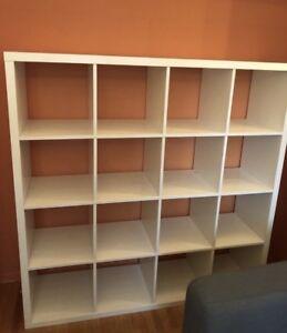 IKEA kallax 16 shelf bookcase