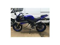 STUNNING YAMAHA YZF R125 - 2016 (66 PLATE) WITH ABS & LOW MILEAGE!