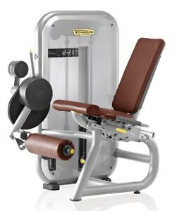 Technogym Commercial Leg Curl Gym Machine Pin Loaded Weights Morayfield Caboolture Area Preview