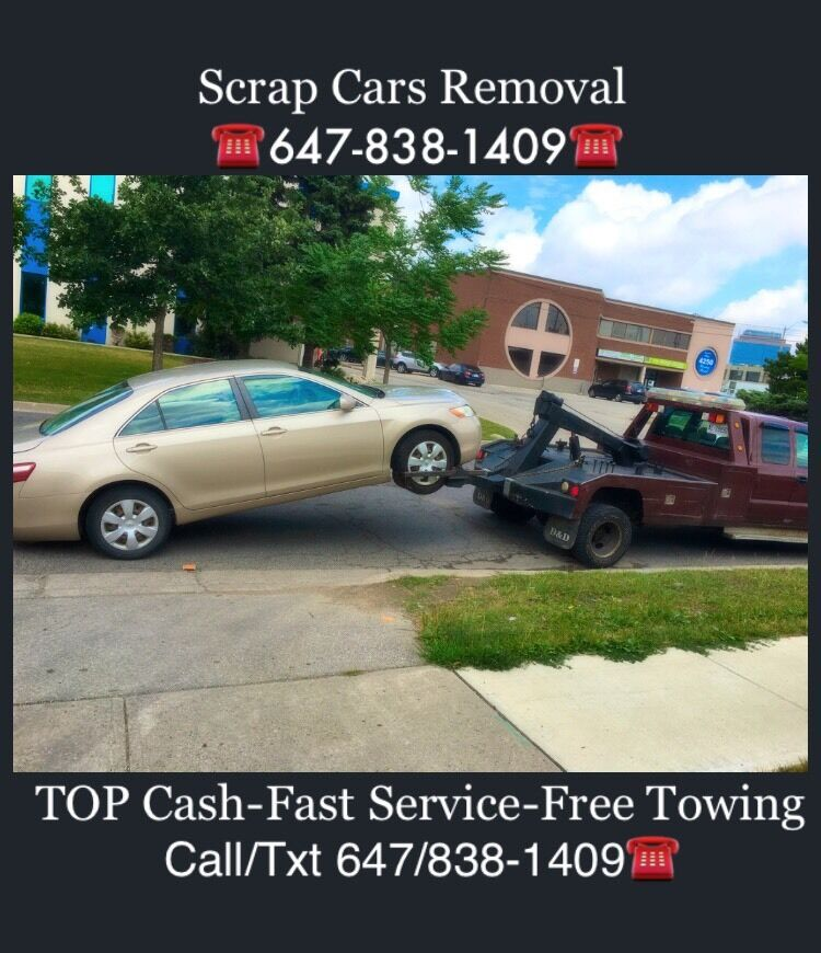 We Pay TOP CASH $$ for Scrap Cars ☎️Call/Txt 647-838-1409 ...