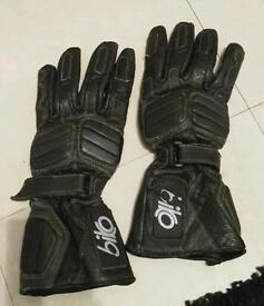 Motorbike gloves. Size small