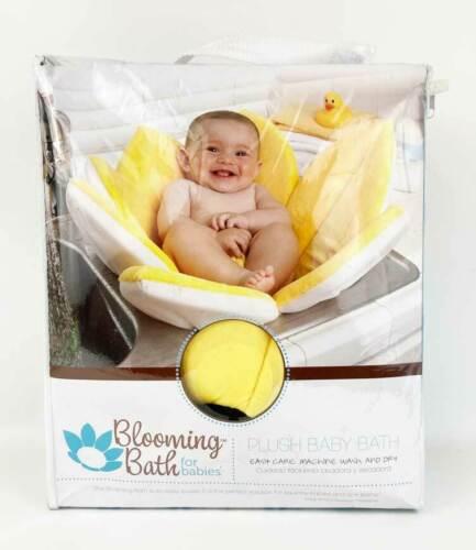 Blooming Bath For Baby Plush Baby Bath Yellow Daisy Shape 7 Petals New